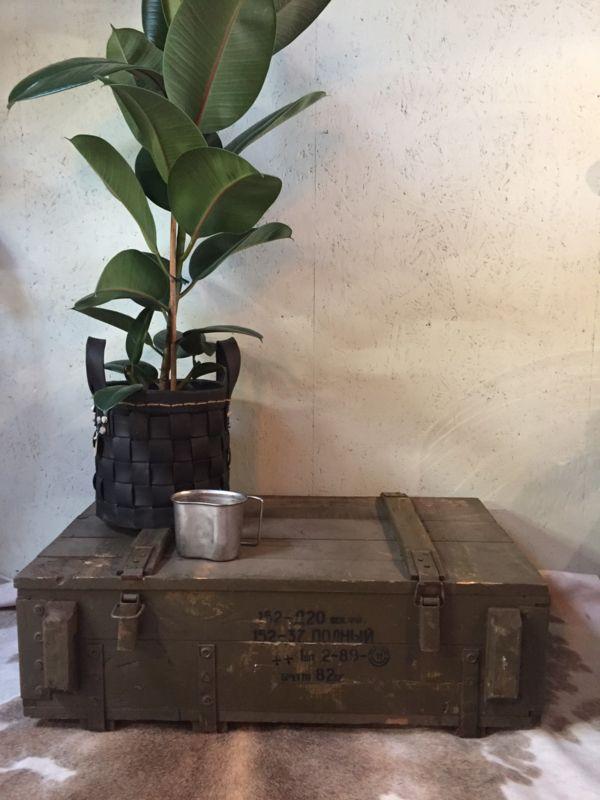 Oude groene kist