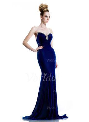 http://www.vbridal.com/Sheath-Column-Strapless-Sweetheart-Sweep-Train-Velvet-Evening-Dress-With-Beading-g5056923