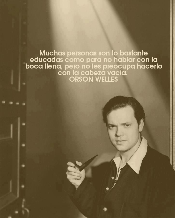 Mi tío Orson #sabe