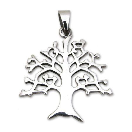 ciondolo nativi americani argento simbolo albero della vita NA39a_G