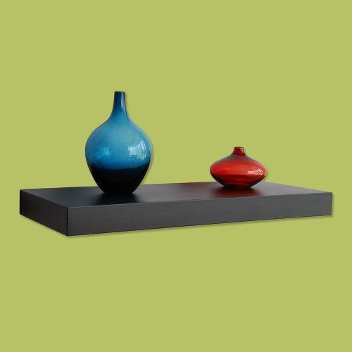 welland 48 inch x 12 inch x 2 inch houston wall shelf display rh pinterest com
