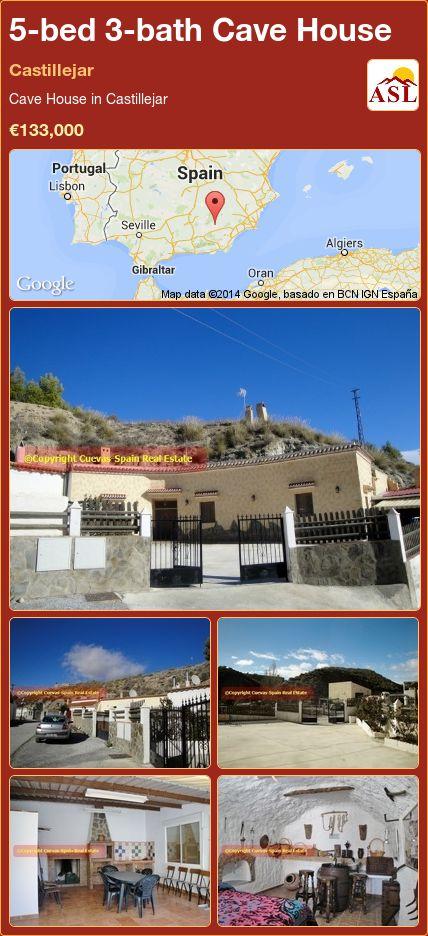 5-bed 3-bath Cave House in Castillejar ►€133,000 #PropertyForSaleInSpain