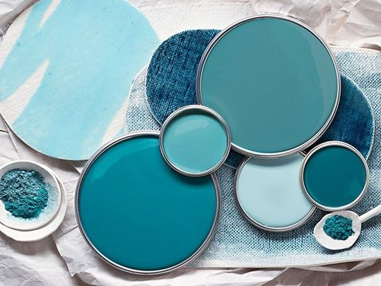 Blue Just Right~ choosing the right blue color in home decor
