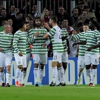 Giorgios Samaras, Celtic. | FC Barcelona 2-1 Celtic. 23.10.12.