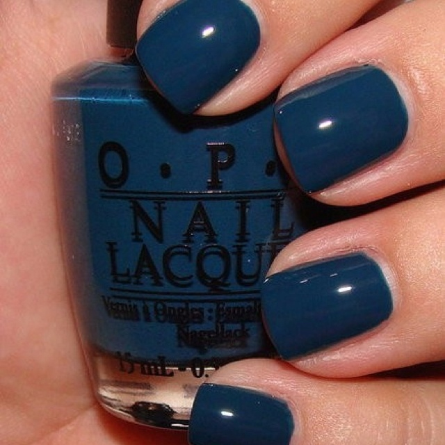 This is a really great fall blue/teal color! I forgot the name of this color but isn't this beautiful:)