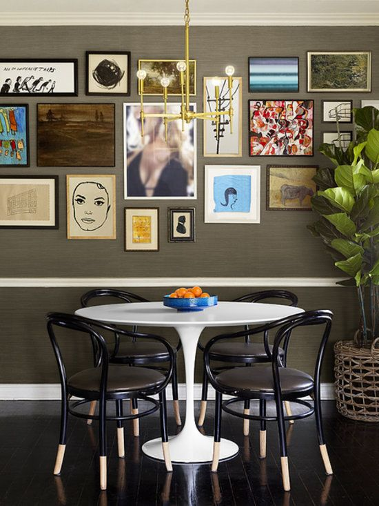 Serving Up Style: 5 Dining Rooms That Do It Right: Midcentury Modern