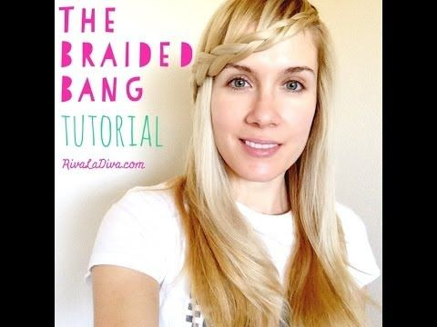 The 25 best braided bangs tutorial ideas on pinterest dutch the braided bang tutorial this braid was a huge hit on the nyc fashion runways this spring for the fall 2014 collections urmus Image collections