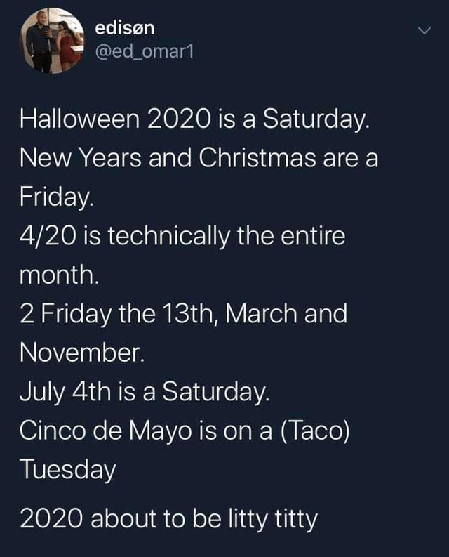Halloween Christmas 2020 Tweets 19 Quote Of The Day Life 6 | Funny tweets, Memes, Funny memes