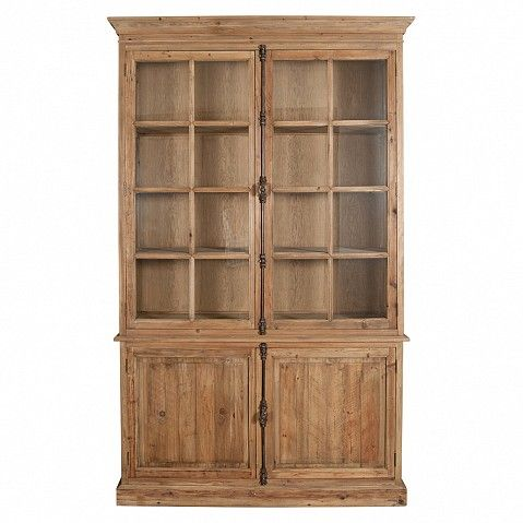 Amazing Country Farmhouse Bleached Pine Dresser   With Wonderful Metal Rod Locking  System   Trade Secret