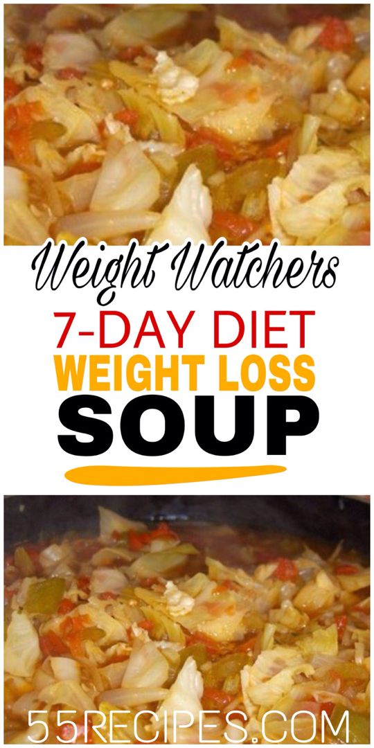 7-Day Diet Weight Loss Soup (Wonder Soup) – 55recipes
