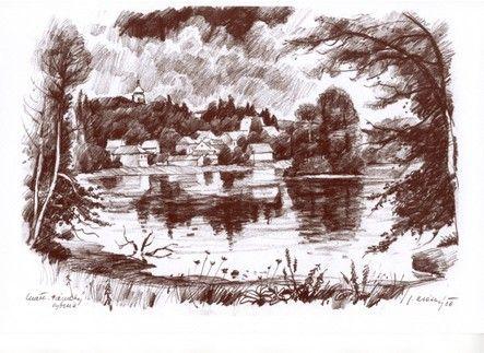 Lnáře - Zámecký rybník