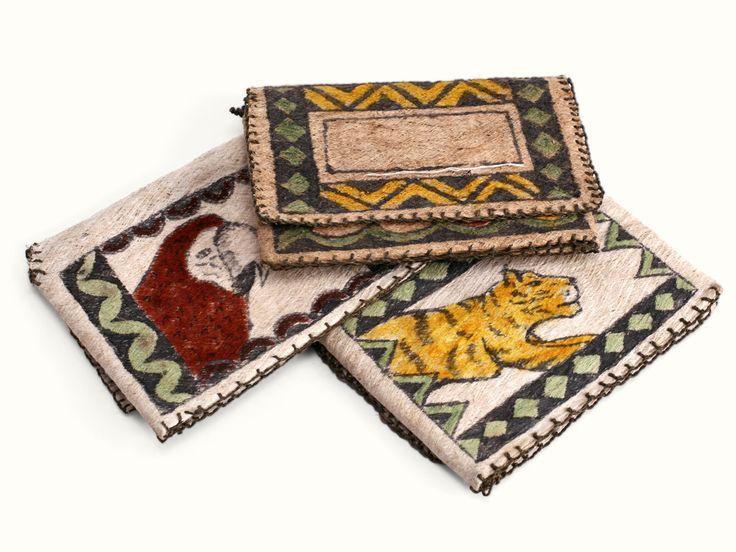 Billeteras en Yanchama - Catálogo de Productos - Artesanías de Colombia