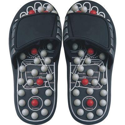 Deluxe Comfort Reflexology Sandals Size: