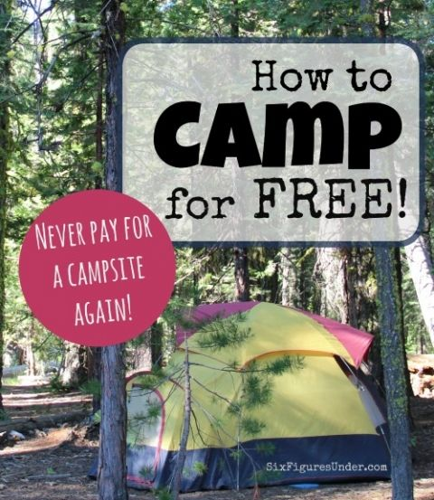 Did you know that you can camp for FREE throughout the United States?  It's called dispersed camping or primitive camping.  It's totally legal and totally free. We do it all the time!  Here's how it works!