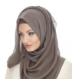 LIGHT FLINT CREPE HIJAB