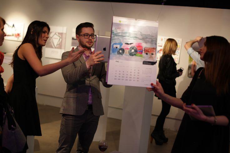 Konkurs kalendarzy zdjęcia z Gali Finałowej.