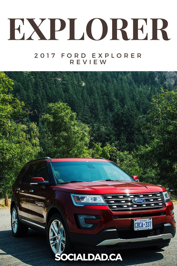 is this the 2017 ford explorer the best family suv this year full review