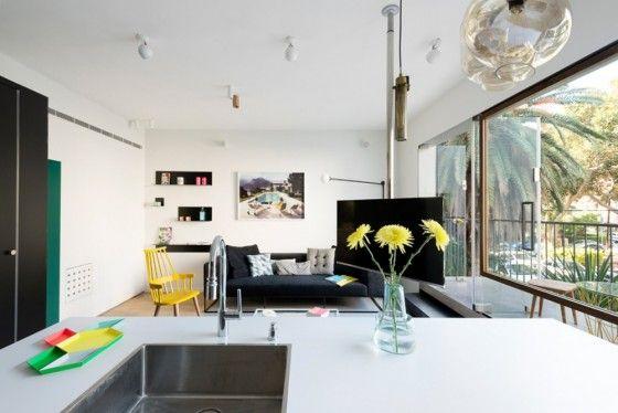 Diseño de sala departamento pequeño
