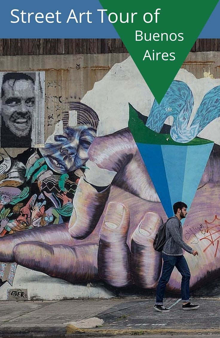 Buenos Aires Argentina is a great city for the visitor who enjoys a bit of hip, some grit and a whole lot of street art. See street art from 4 colorful neighborhoods.