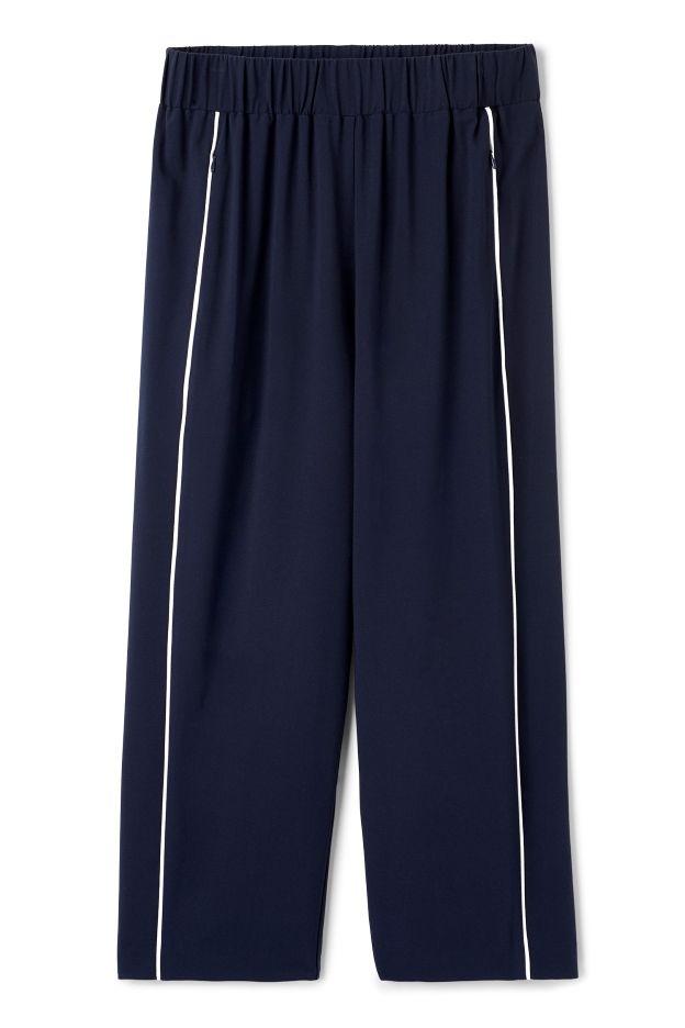 Weekday image 1 of Flee Trousers in Blue Dark