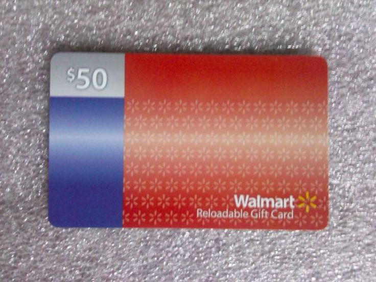 Full $50.00 value. No Reserve. Tracking Provided. Free Shipping #card #gift #walmart