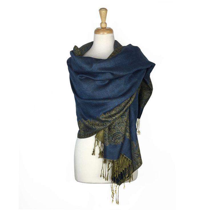 Sheer Wrap - Blue+DarkBurst 5 by VIDA VIDA 3knWR