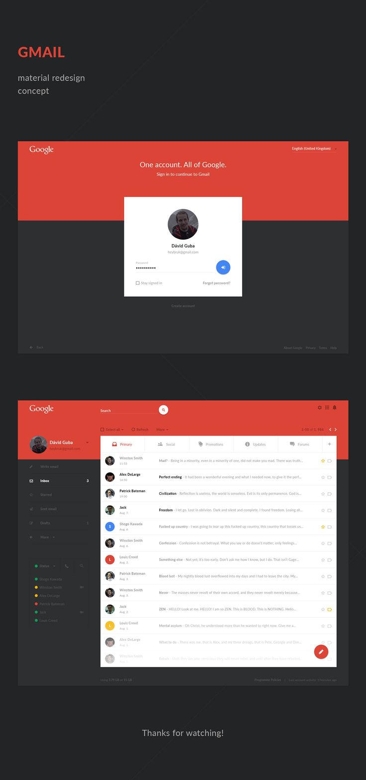 https://www.behance.net/gallery/28562203/Gmail-Material-Redesign-Concept
