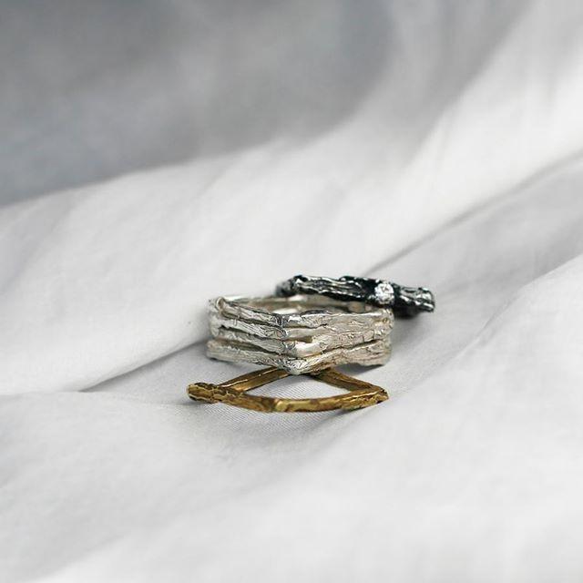 Nowe pierścienie dla Ciebie  # inspiredbynature #new #newiscoming #rings #art #madeforyou #mywork #handmade #handmadejewelry #jewelry #design #designer #polishart #polishbrand #brand #silver #silverjewelry #gold #stone #goldjewelry #ruby #gemstonejewelry # mix #mixandmatch #fun #possibilities #annasamkow #samkow