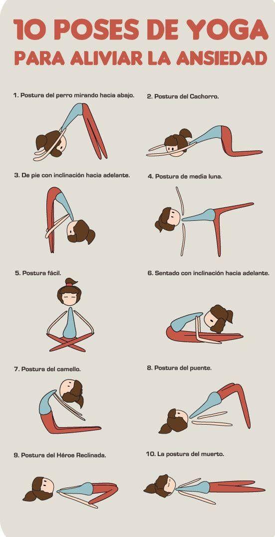 10 poses de Yoga para que alivies la ansiedad de fin de año #survivor #estudiantes #umayor