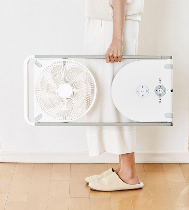 うす いからスキマにスッキリ収納 夏のサーキュレーターによさそうです 扇風機 インテリア 家具 サーキュレーター