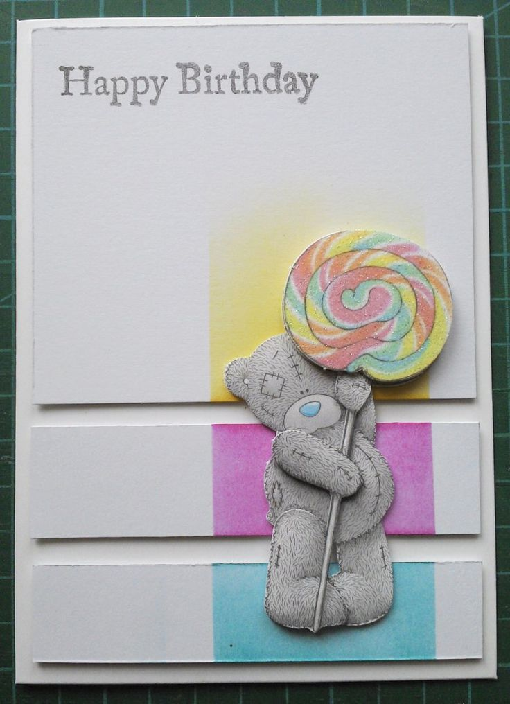 CAS Me To You Sweet Shop Birthday Card by smidgett