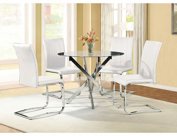 Coylin Cocktail And End Table Tori 5 Piece Dining Package