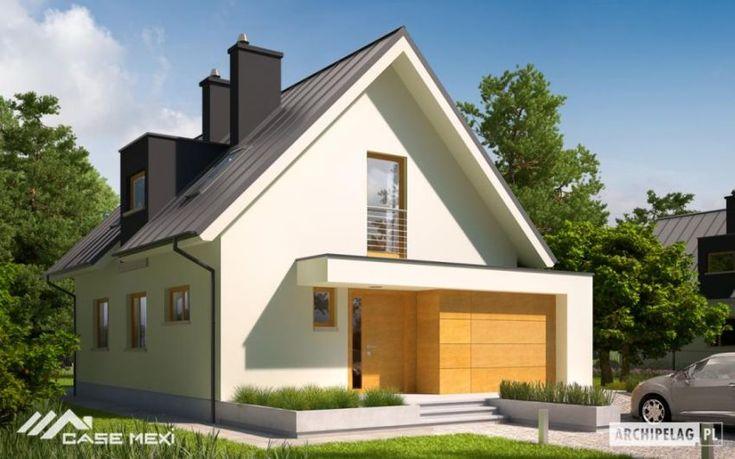 case cu mansarda si balcoane Houses with attic and balconies 3