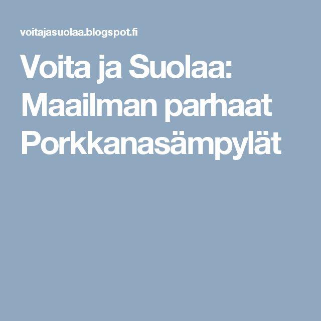 Voita ja Suolaa: Maailman parhaat Porkkanasämpylät