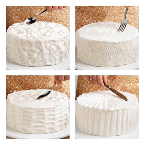 #DIY Patterns on #Cake