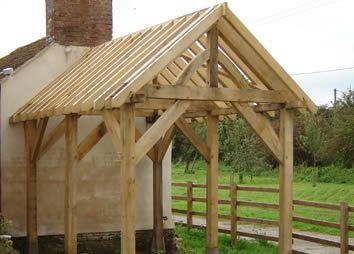Oak Timber Frame Shed Forest Of Dean Garden Buildings