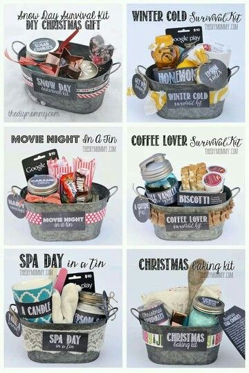 Different gift baskets for different occasions
