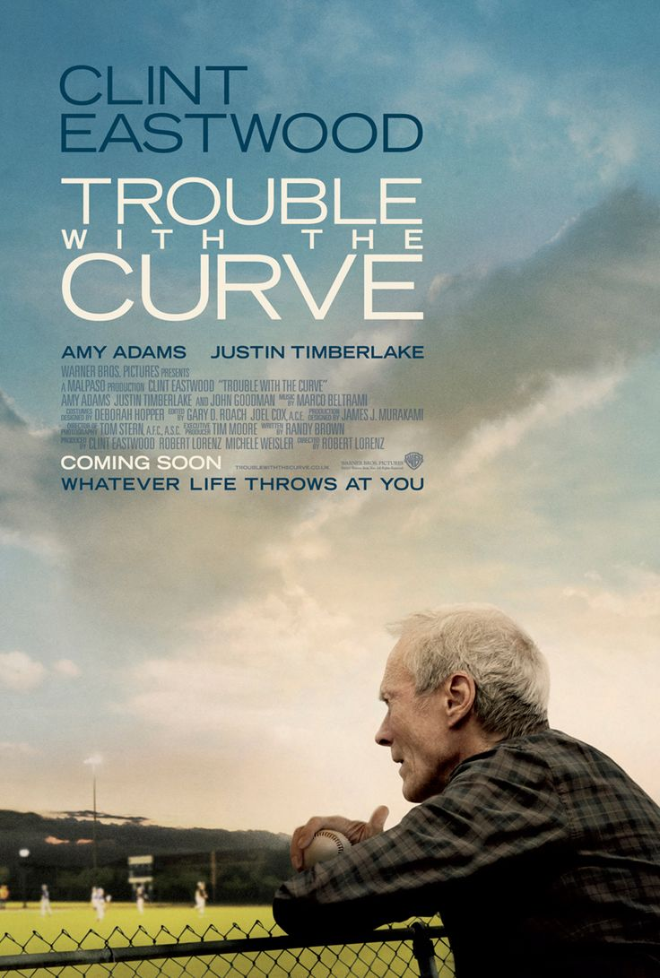 Trouble with the Curve. One of the best sports movies I have ever seen and I love baseball!!