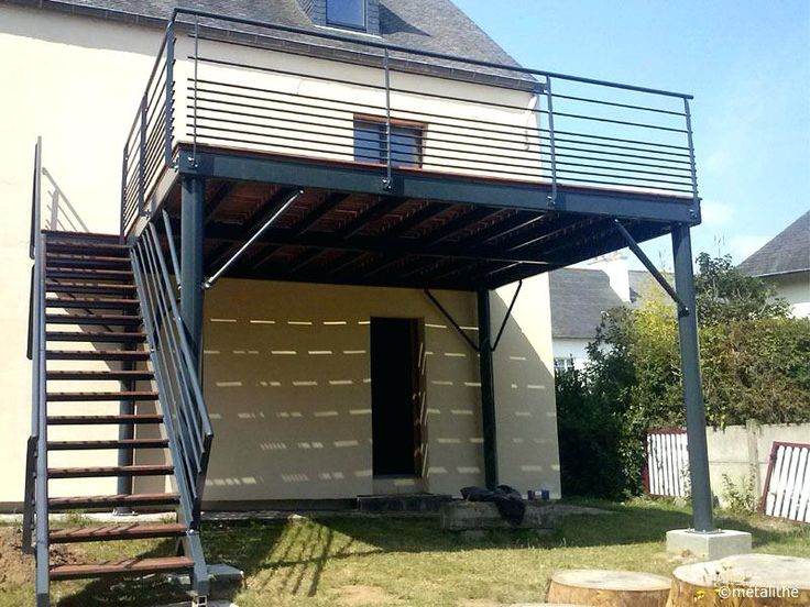 Terrasse Beton Sur Pilotis Créatif Prix Terrasse Sur