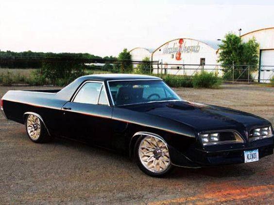 Pontiac Firebird El Camino.   El camino, Chevy, Dream cars