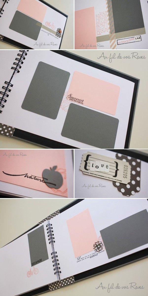 Livre d'or mariage / Au fil de vos rêves / Papeterie & décoration artisanale / www.aufildevosreves.com