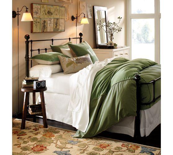 Adair Sconce Pottery Barn Bedrooms Home Bedroom Bed