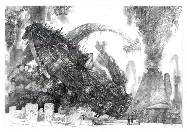 filip kurzewski; pencil on paper; 70x100cm / 27,5x39inch
