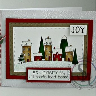Crafters Companion Nordic Christmas Stamps & Folders 2