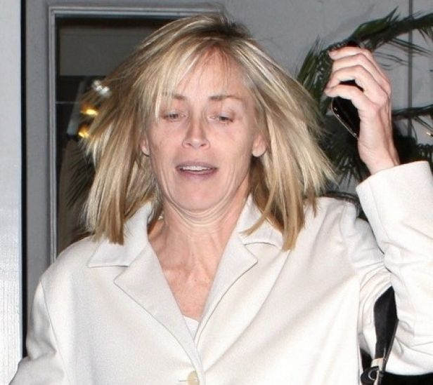 Sharon Stone No Makeup 17 Best images about w...