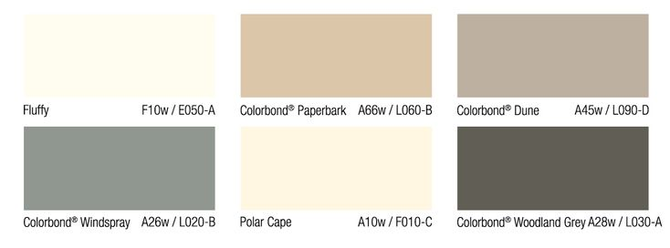 Wattyl.com.au: California Bungalow colour scheme. Maybe a combo of polar cape or fluffy and woodland grey, possibly with paperbark (although I think I'd prefer 2 colours + roof)