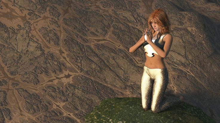https://flic.kr/p/whuZFD | Focusing in Two Universes 4 | artwork produced by: JoreJj Z. Elprehzleinn Elprehzleinn.ca credits: Victoria 5 character, clothing and hair from Daz3D.com. Scene rendered in Vue by e-onsoftware. Mountain texture maps from Quadspinner.com