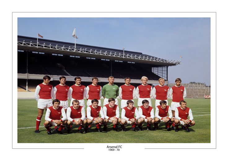 ARSENAL 1969 -70 A4 PRINT PHOTO ARSENAL GIFT FOR HIM HIGHBURY
