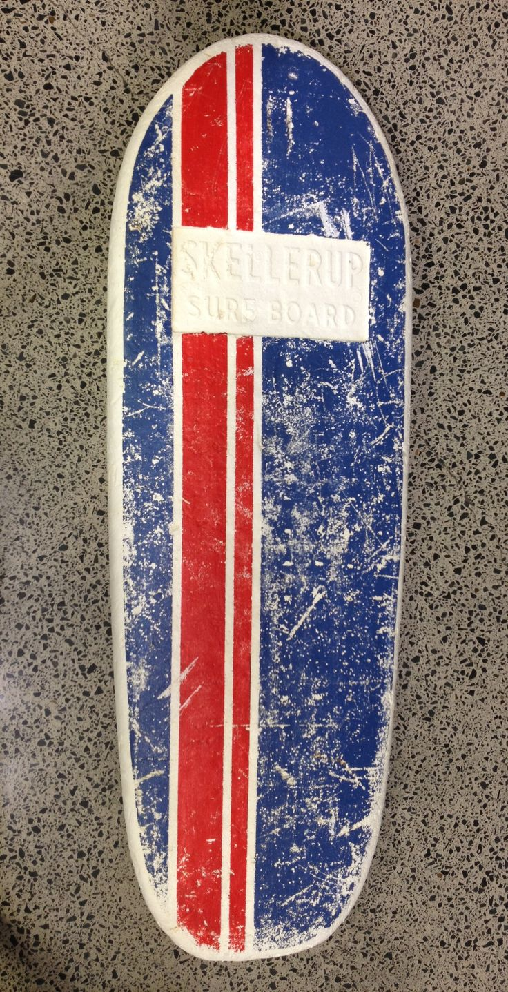 Skellerup polly surfboard, a true NZ icon.