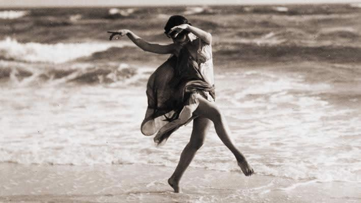 Isadora Duncun. the mother of contemporary dance.